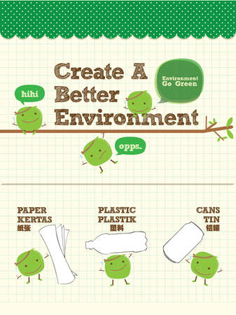 Recycle Bean for Better Environment