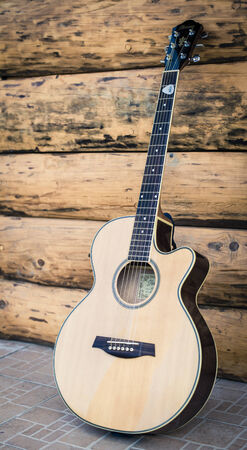 Western acoustic guitar photo