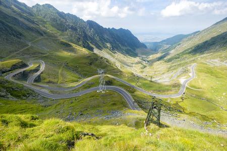 transfagarasan: Transfagarasan road in summer time