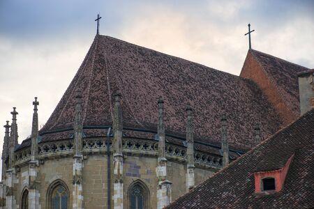 brasov: Black church (Biserica Neagra) in Brasov, Transylvania, Romania