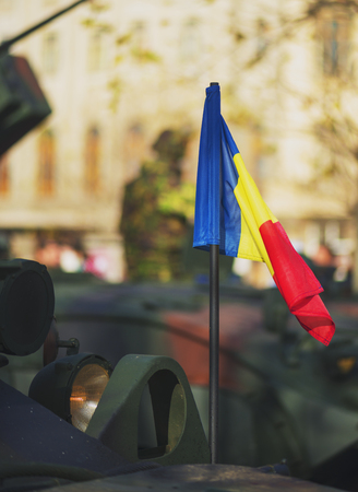 M16: BUCHAREST, ROMANIA, DEC. 1: Military Parade on National Day of Romania, 1 December 2015 Editorial