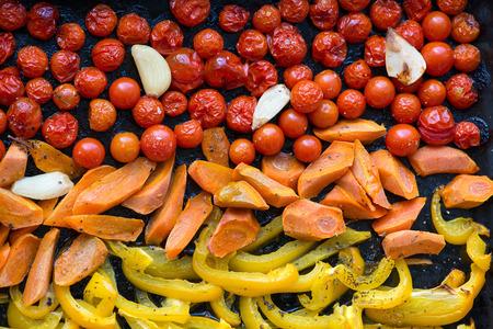 baked: Baked vegetables