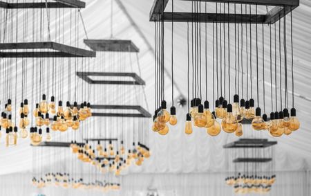 Beautiful retro luxury interior bulb lighting lamp decor