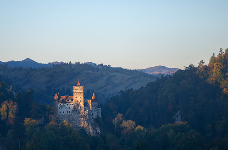 Bran or Dracula Castle in Transylvania, Romania. Stock Photo