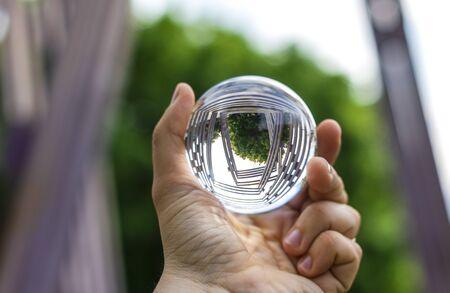 Metal arhitecture through the lensball