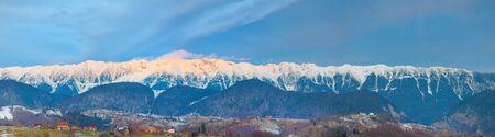 panorama of the carpathian mountains Reklamní fotografie