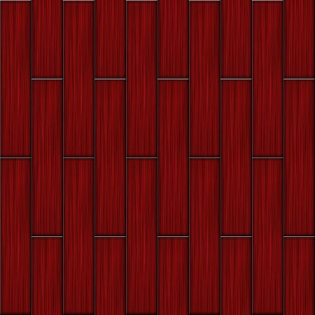 Red wood flooring parquet seamless square texture. photo
