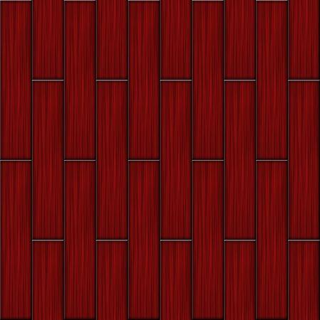 tegelwerk: Rode houten vloeren parket naadloze vierkante structuur.