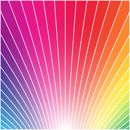 Abstract multicolor rainbow styled square background. Stock Vector - 5997667