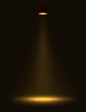 dull: Abstracta l�mpara de luz.