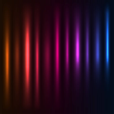 aureole: Abstract  colorful light columns  background.