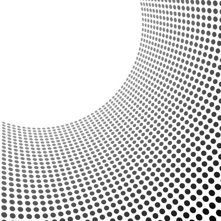 gray pattern: Curved circles pattern template with copy space.