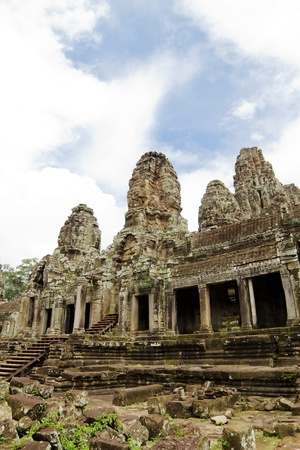 Bayon Temple. Angkor, Siem Reap, Cambodia. photo
