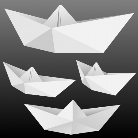 2234 Origami Boat Cliparts Stock Vector And Royalty Free Origami