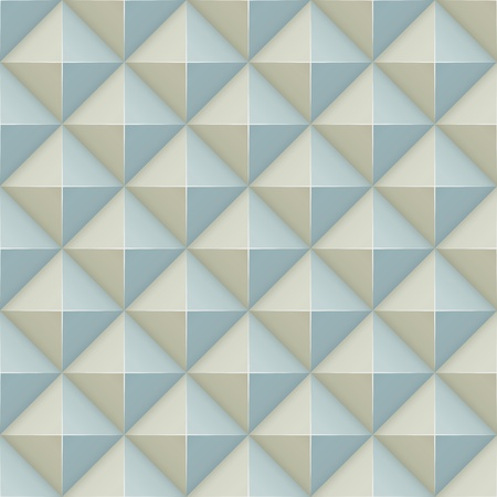 sectional: Pyramid relief surface seamless pattern