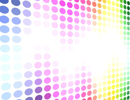 Spectrum colored circle pattern background Stock Vector - 17916075