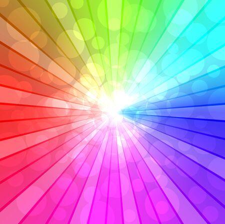 cool background: Colorful spectrum background  Illustration