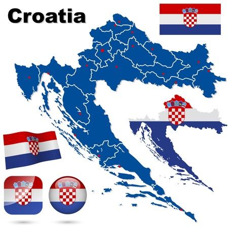 bandera de croacia: Croacia conjunto