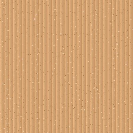 Seamless yellow cardboard vector texture  Vector