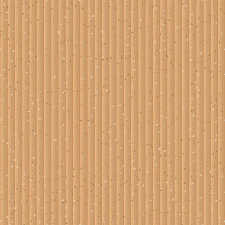 corrugated box: Seamless yellow cardboard vector texture
