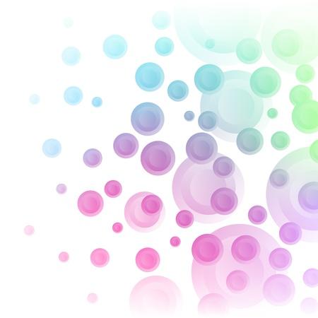 pastel shades: Pastel shades circles background.