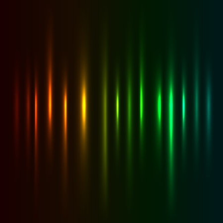 Color light strokes background. Vector