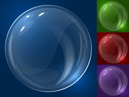 Bubble template. To change color just change background color.  Vector