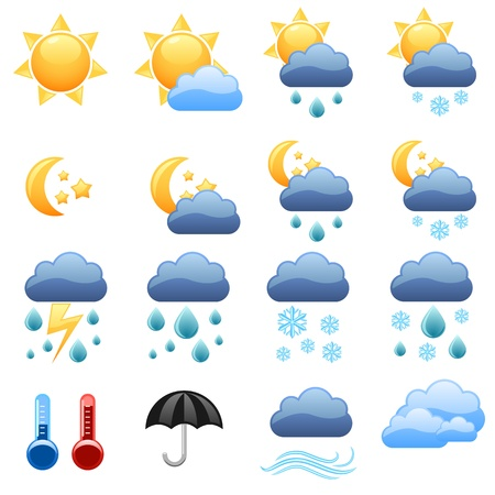 wind icon: Cool weather icons foe web site