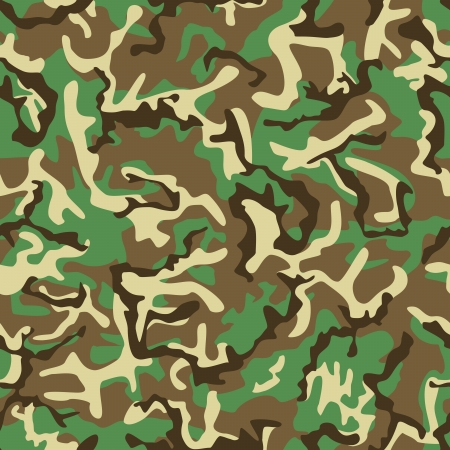 nato: Seamless green, yellow and brown camouflage pattern