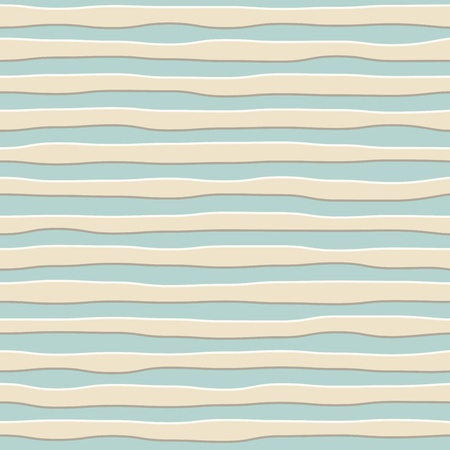 Abstract seamless rough wavy stripes wall vector background  Vector