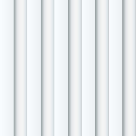 ribbed: Abstract seamless white ribbed wall vector background  Illustration
