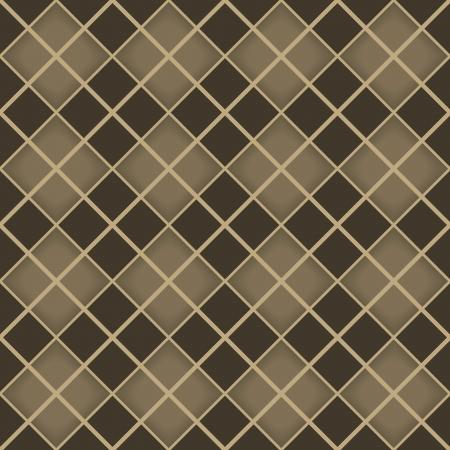 Seamless brown diamond geometrical pattern Stock Vector - 22569550