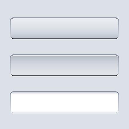 unpressed: Interface plantilla bot�n rectangular con campo de texto
