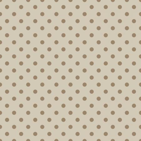 Seamless stylish beige dotted vector pattern  Иллюстрация