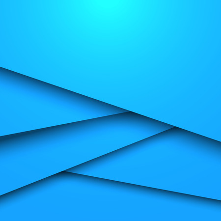 layered: Abstract blue layered vector background with copy space.