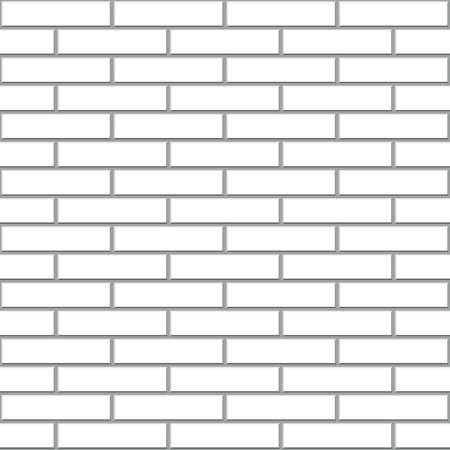 white brick: Seamless white brick wall vector pattern. Illustration