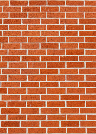 Seamless red brick wall texture.