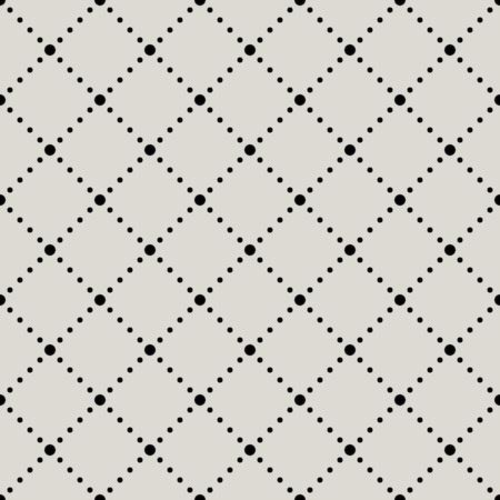 diamante negro: Seamless círculos en forma de diamante de vectores de fondo. Vectores
