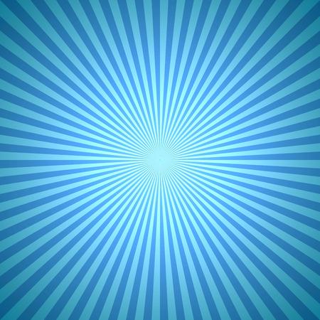 burst background: Abstract blue winter burst background. Illustration