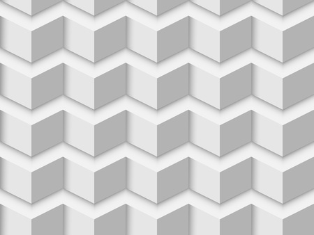 textured wall: White triangle textured wall vector background.