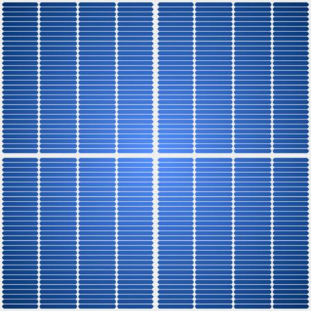Solar-Panel nahtlose Vektor-Textur.