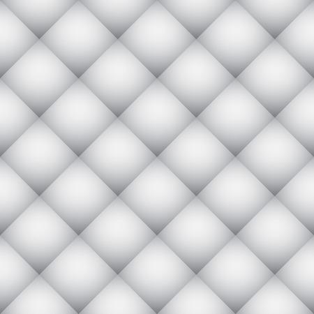 Weiße Diamant-Muster weichen Wand Vektor Textur. Vektorgrafik