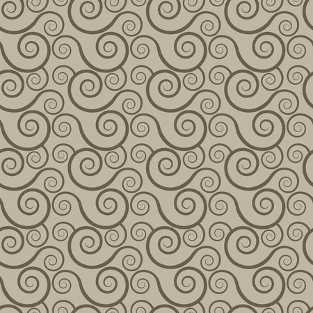 abstract swirls: Abstract seamless spiral swirls vector pattern. Seamless background for print or web usage. Illustration