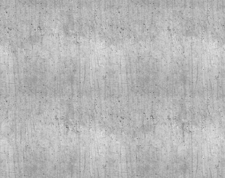 Naadloze grijs gladde nieuwe betonnen muur textuur.