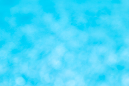 Abstract Blue Soft Bokeh Background