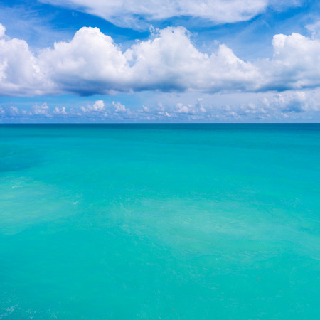 Tranquil Tropical Water Seascape with Sandy Sea Floor. Exotic Turquoise Sea Water Backdrop. Imagens