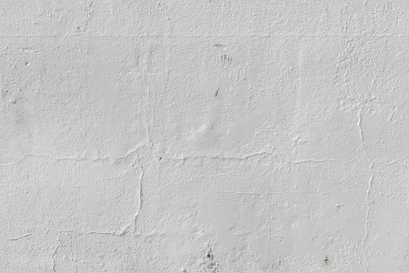 Seamless Weathered Painted Wall Texture. Blank White Rugged Wall Backdrop.