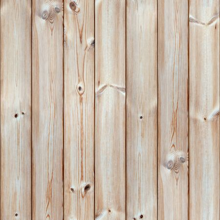 Seamless Wooden Planks Wall Texture. Tileable Wood Boards Surface Background. Banco de Imagens