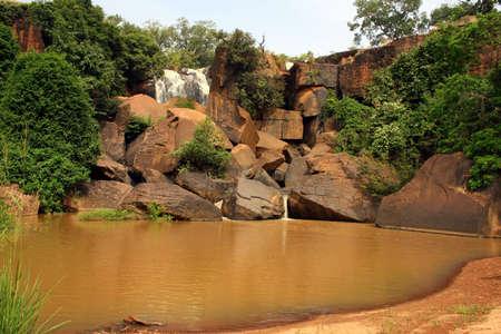 burkina faso: The waterfalls of banfora in burkina faso