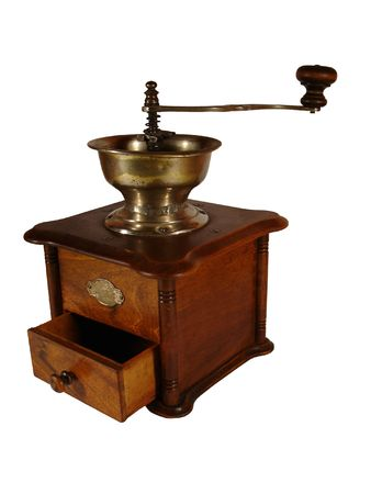 Old coffee grinder photo